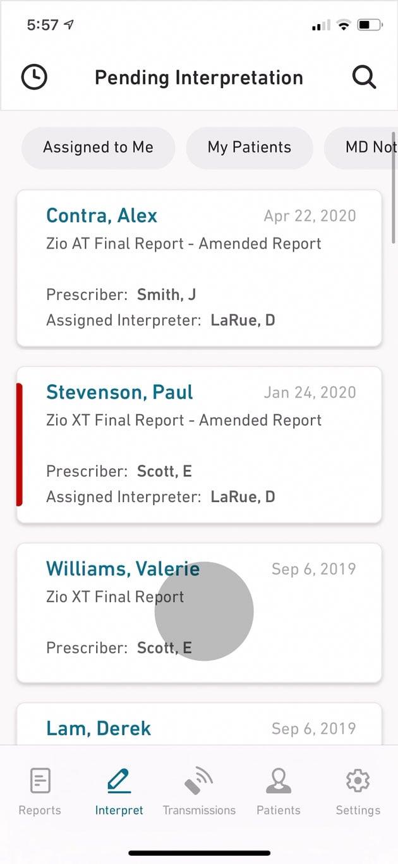 Patient Management on Mobile